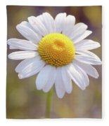 Wild Flower Fleece Blanket