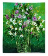 Wild Flowers 450150 Fleece Blanket