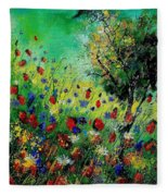 Wild Flowers 670130 Fleece Blanket