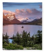 Wild Goose Island Morning 1 Fleece Blanket