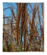 Wild Grass Fleece Blanket