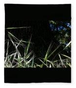 Wild Grass In The Sunlight Fleece Blanket