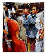 Wild Jazz Fleece Blanket