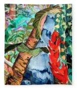 Wild Jungle Fleece Blanket