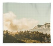 Wild Morning Peak Fleece Blanket