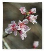 Wild Mountain Blossoms Fleece Blanket