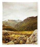 Wild Mountain Terrain Fleece Blanket