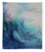 Wild Ocean Fleece Blanket