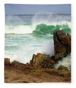 Wild Pacific Two Fleece Blanket