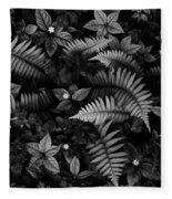 Wild Plants Fleece Blanket