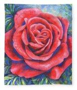 Wild Rose Three Fleece Blanket