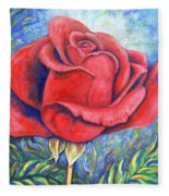 Wild Rose Two Fleece Blanket