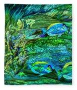 Wild Sargasso Sea Fleece Blanket