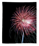 Wild Sky Flower Fleece Blanket