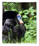 Wild Turkey 2 Fleece Blanket