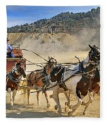 Wild West Ride Fleece Blanket