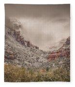 Boynton Canyon Arizona Fleece Blanket