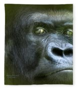 Wildeyes-silverback Fleece Blanket