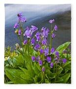 Wildflower Cascade Fleece Blanket