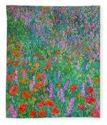 Wildflower Current Fleece Blanket