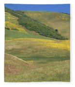 Wildflower Display - Salisbury Potrero Fleece Blanket