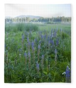 Wildflower Meadow Fleece Blanket