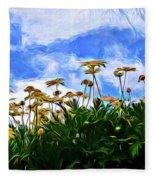 Wildflowers 11318 Fleece Blanket