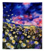 Wildflowers 67 Fleece Blanket