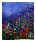 Wildflowers 78 Fleece Blanket