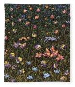 Wildflowers Fleece Blanket