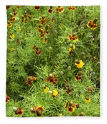 Wildflowers Nine Fleece Blanket