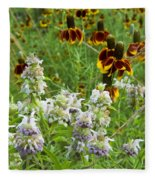 Wildflowers Seven Fleece Blanket