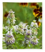 Wildflowers Three Fleece Blanket
