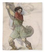 Wilhelm Tell Fleece Blanket