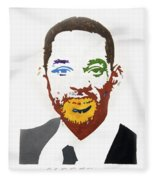 Will Smith Fleece Blanket