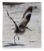 Willet Take-off Fleece Blanket