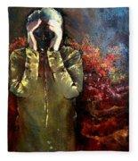 Willful Amnesia Fleece Blanket