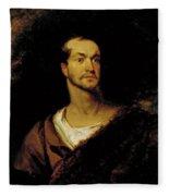 William Charles Macready As William Tell Fleece Blanket