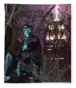 William Seward And Empire State Building 1 Fleece Blanket