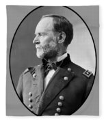 William Tecumseh Sherman Fleece Blanket