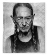 Willie Nelson Fleece Blanket