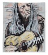 Willie Nelson Fleece Blanket