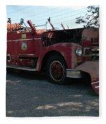Willig Collection 6 Fire Truck Fleece Blanket