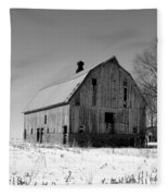 Willow Barn Bw Fleece Blanket