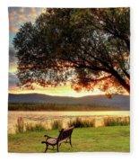 Willow Bay Fleece Blanket