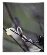 Willow Stages Fleece Blanket