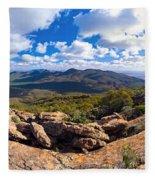 Wilpena Pound And St Mary Peak Fleece Blanket