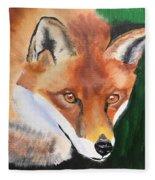 Wily Fox Fleece Blanket