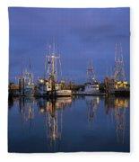 Winchester Bay Reflections Fleece Blanket