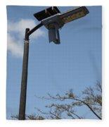Wind And Solar Powered Light Fleece Blanket